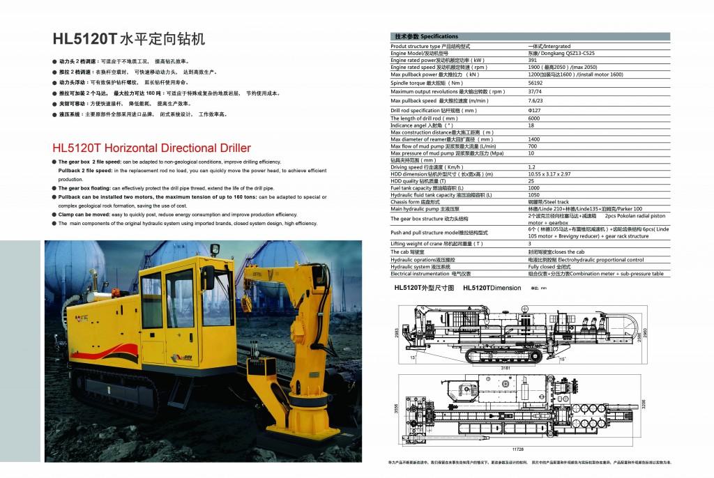 เครื่องดันท่อ HL5120T